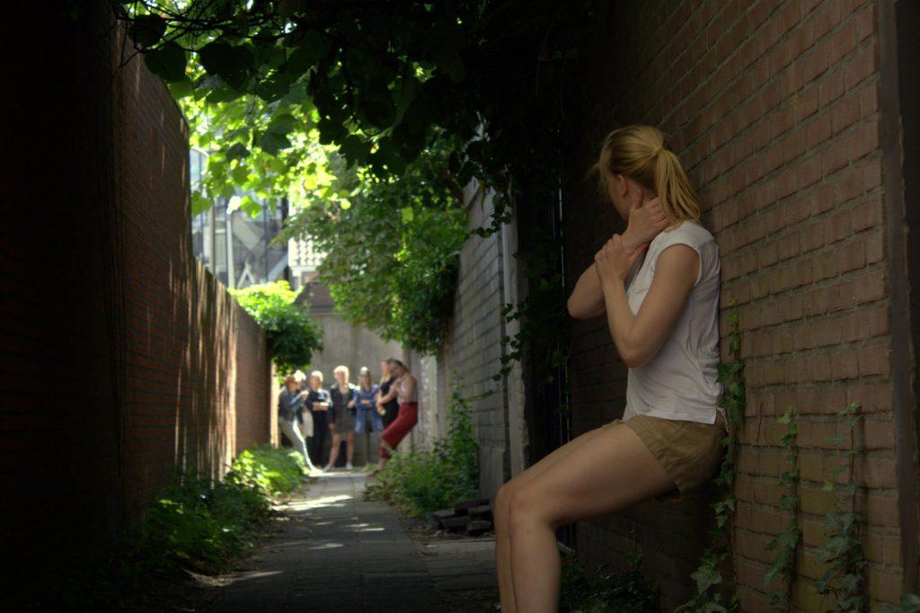 Locatie stuk: 'Tussen één straatje'